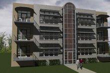 Dream House Plan - Modern Exterior - Front Elevation Plan #535-4