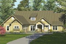 Dream House Plan - Craftsman Exterior - Front Elevation Plan #453-8
