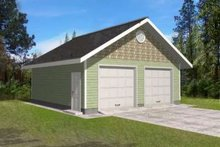 House Plan Design - Traditional Exterior - Front Elevation Plan #117-492