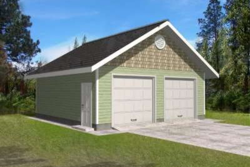 Traditional Exterior - Front Elevation Plan #117-492