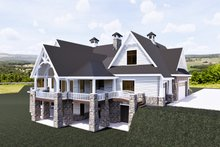 House Plan Design - Craftsman Exterior - Other Elevation Plan #920-111