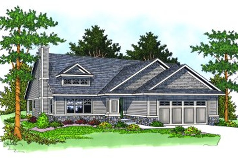 Traditional Exterior - Front Elevation Plan #70-183 - Houseplans.com