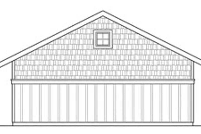 Craftsman Exterior - Rear Elevation Plan #124-631 - Houseplans.com