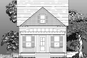 Traditional Exterior - Front Elevation Plan #442-5