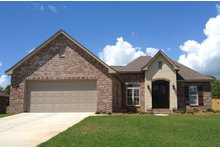 Home Plan - Traditional Exterior - Front Elevation Plan #430-70