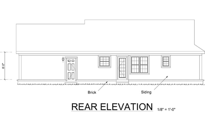 Country style house plan 2 beds 2 baths 960 sq ft plan for Tk homes floor plans