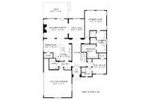 European Floor Plan - Main Floor Plan Plan #413-875