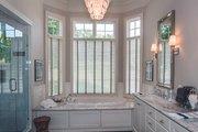 Tudor Style House Plan - 4 Beds 4.5 Baths 3983 Sq/Ft Plan #929-947 Interior - Master Bathroom