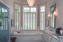 House Design - Tudor Interior - Master Bathroom Plan #929-947