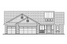 Craftsman Exterior - Front Elevation Plan #20-2179