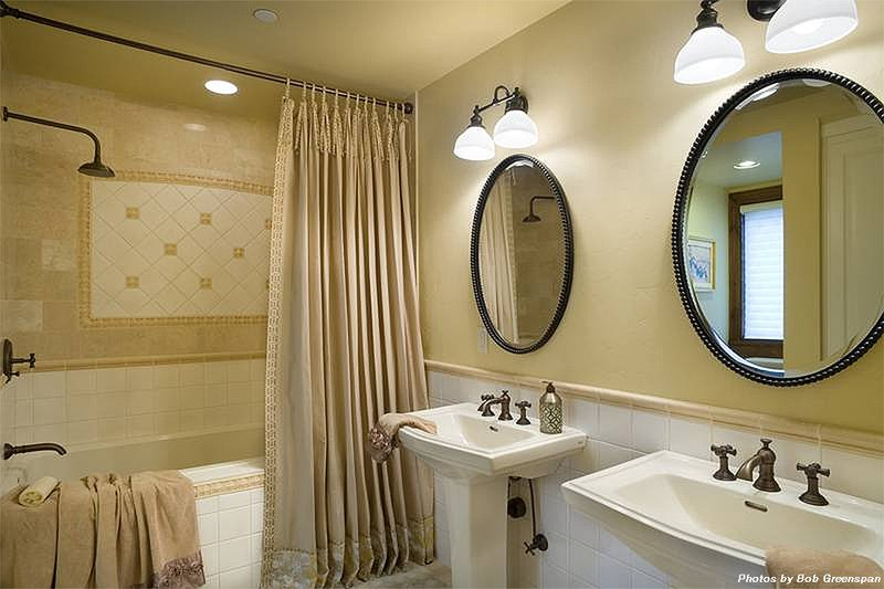Bedroom 2 Bathroom - 4000 square foot European home
