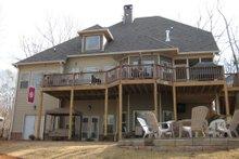 Dream House Plan - Craftsman Exterior - Rear Elevation Plan #437-3