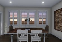Architectural House Design - Ranch Interior - Dining Room Plan #1060-11