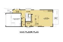 Modern Floor Plan - Main Floor Plan Plan #1066-106