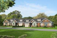 Dream House Plan - Craftsman Exterior - Front Elevation Plan #932-27
