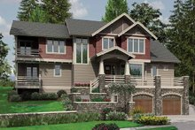 Craftsman Exterior - Front Elevation Plan #48-364