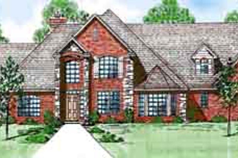 House Design - European Exterior - Front Elevation Plan #52-190