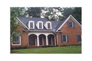 Traditional Style House Plan - 4 Beds 3.5 Baths 3342 Sq/Ft Plan #429-3 Exterior - Other Elevation