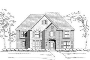 Traditional Exterior - Front Elevation Plan #411-129