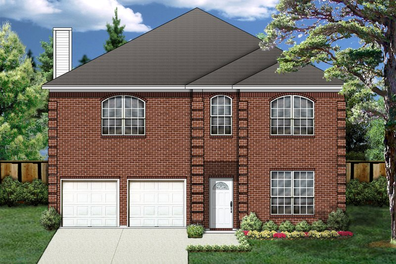 Traditional Exterior - Front Elevation Plan #84-383