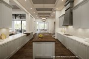 Contemporary Style House Plan - 5 Beds 5.5 Baths 6136 Sq/Ft Plan #930-475 Interior - Kitchen