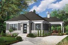 Architectural House Design - Modern Exterior - Front Elevation Plan #23-2661