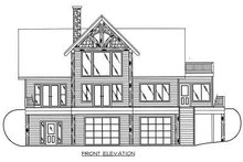 Dream House Plan - Exterior - Other Elevation Plan #117-459