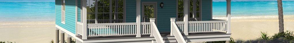 Narrow Lot Beach House Plans, Floor Plans & Designs