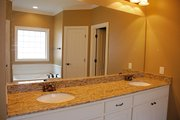 Traditional Style House Plan - 4 Beds 2 Baths 1750 Sq/Ft Plan #430-57 Interior - Master Bathroom