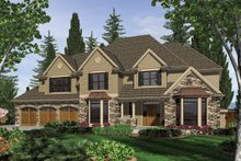Home Plan - Traditional Exterior - Front Elevation Plan #48-621