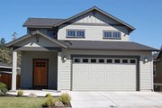 Traditional Style House Plan - 3 Beds 2.5 Baths 1754 Sq/Ft Plan #895-42 Exterior - Front Elevation