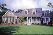 Southern Style House Plan - 4 Beds 3 Baths 2567 Sq/Ft Plan #456-4 Exterior - Front Elevation