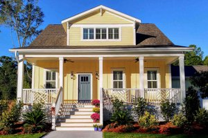 Craftsman Exterior - Front Elevation Plan #461-18