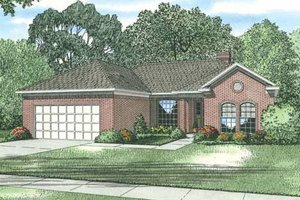 Traditional Exterior - Front Elevation Plan #17-2285