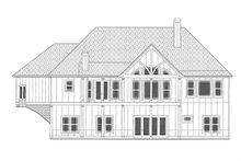 Craftsman Exterior - Rear Elevation Plan #437-103