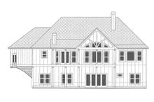 House Plan Design - Craftsman Exterior - Rear Elevation Plan #437-103