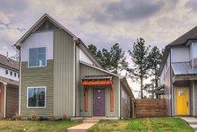 House Plan Design - Contemporary Exterior - Front Elevation Plan #932-7