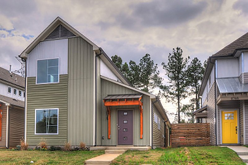 Home Plan - Contemporary Exterior - Front Elevation Plan #932-7