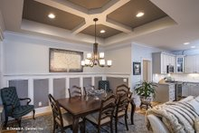 Dream House Plan - Craftsman Interior - Dining Room Plan #929-14