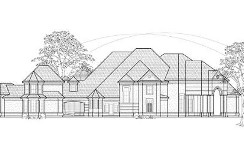 European Exterior - Front Elevation Plan #61-159 - Houseplans.com