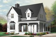 Traditional Style House Plan - 3 Beds 2 Baths 1502 Sq/Ft Plan #23-677
