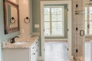 Craftsman Style House Plan - 4 Beds 2.5 Baths 2329 Sq/Ft Plan #430-152 Interior - Master Bathroom