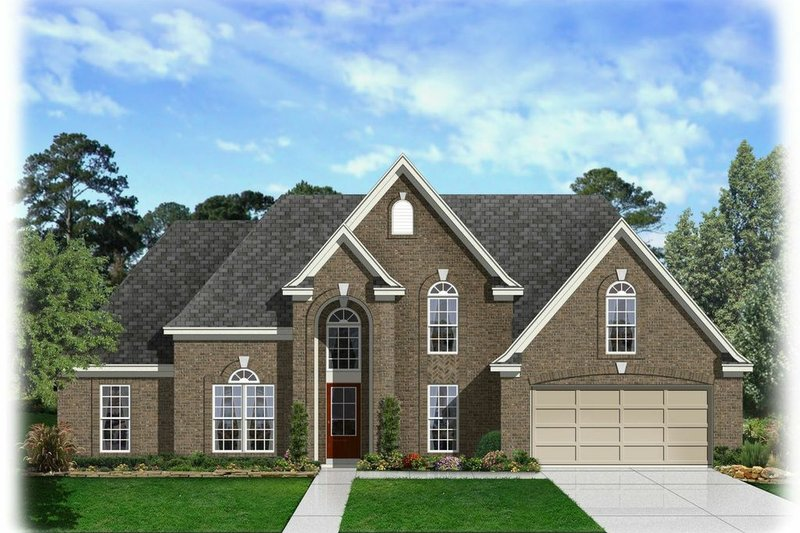 House Plan - 5 Beds 3 Baths 2428 Sq/Ft Plan #329-331 Exterior - Front Elevation