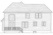 Traditional Exterior - Rear Elevation Plan #46-426