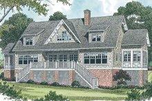 Dream House Plan - Craftsman Exterior - Rear Elevation Plan #453-19