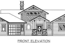 Bungalow Exterior - Other Elevation Plan #117-574