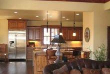 Kitchen photo of Craftsman style home
