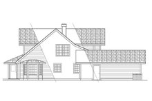 Home Plan - Farmhouse Exterior - Other Elevation Plan #124-181