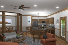 Architectural House Design - Family to Kitchen