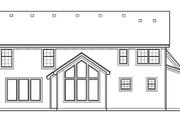 Traditional Style House Plan - 4 Beds 2 Baths 2620 Sq/Ft Plan #67-843 Exterior - Rear Elevation